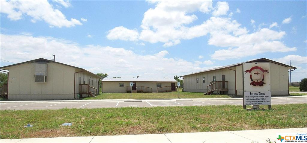 Looking at the Park Like Setting, oh the Possibilities are only limited to your imagination. The obvious choice would be to continue and grow a ministry as it comes to your vision!  However, if you had a different ideas in mind, this could be the property to build your empire.  Its perfect for generating multiple streams of income with different types of business services. There is room to build addition buildings depending on how BIG you need. Its currently zoned Residential, however its location could make it possible to get a variance depending on what zoning you'll need to request, if any. Seller will not request any rezoning prior to purchase.   Its located centrally in Killeen with easy access to TX Hwy 14 to I-35 & Hwy 195 South & I-35 to Austin.