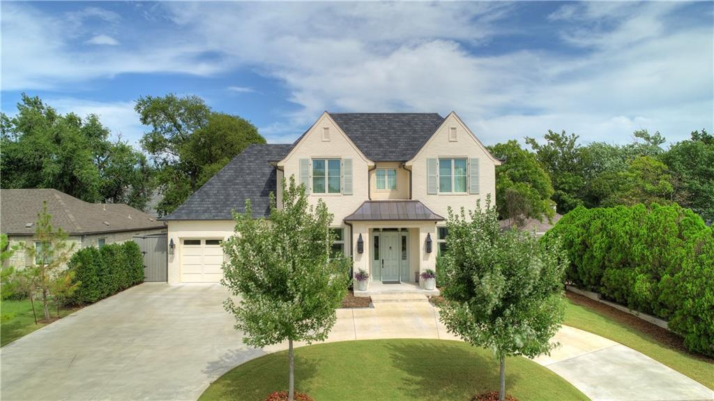 New Construction in 2019 on sought after Hillcrest Avenue in Nichols Hills.  This home is exceptional in every way.  The main level has a spacious open floor plan, owners suite with fireplace, guest en suite bedroom, office and a workout room!!!  Two bedrooms upstairs and a 2nd office makes this a floor plan for all types of families and great for resale.  A list of features will be provided at showings, but include top of the line Viking appliances, Miele coffee machine, Sonic ice maker, Custom cabinets, Designer draperies and lighting, Smart home technology and much much more!  Relax in your resort style backyard with a self cleaning pool, tremendous outdoor living and no maintenance turf.  This house is a true show stopper and a must see for anyone who wants to live the Nichols Hills lifestyle to the fullest!!!