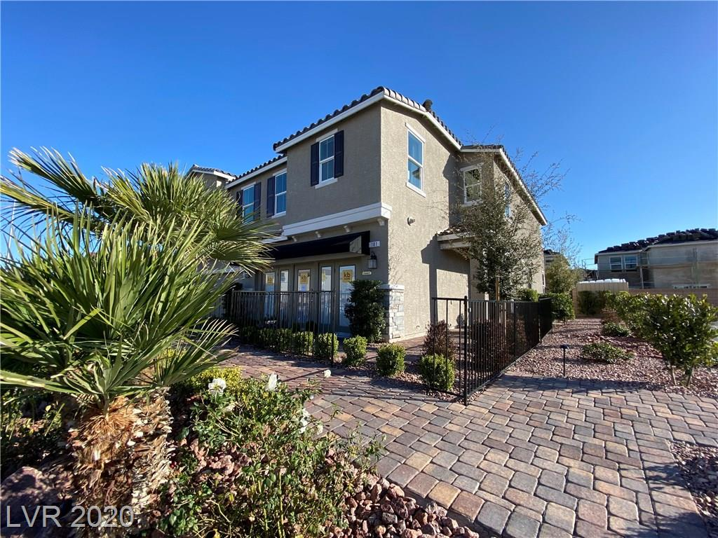 Former Model Home / Never lived in / 3 Bedroom Plus and upstairs loft / Granite Kitchen Countertops / Gourmet Lite kitchen upgrade / Low E windows / Brick paver driveway / Fully landscaped front and rear / gated neighborhood with nice park area