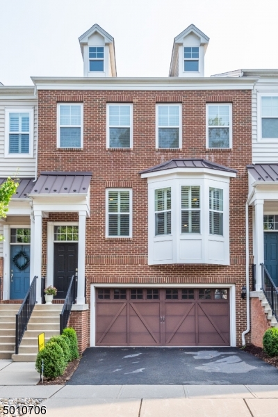Welcome to your oasis in vibrant Morristown! Just two blocks from downtown, this home boasts a gorgeous and over sized kitchen with stainless appliances and tons of storage. The large floor plan with the kitchen, dining room, living room and a bright sun room o ff of the kitchen opens to a spacious deck and fenced in yard (maintained by association). Upstairs the master suite offers a sitting room, designer walk-in custom closet, full bath with an elegant soaking tub, stall shower and granite vanity with double sinks. Two other well sized bedroom rooms, hall bath and laundry are on this floor. Then step down into the fully finished basement with a full bath and lots of space to spread out.