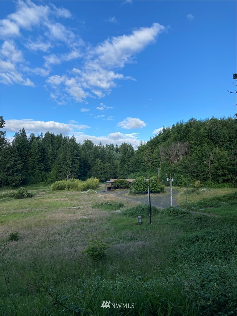 Lare home with attached ADU/apartment on 5+ acres located close to Centralia.  Very private and secluded with extra large shop, garden space, daylight basement with two bedrooms and bathroom, large kitchen with commercial size fridge and stove. ADU has it's own meter and heatpump.