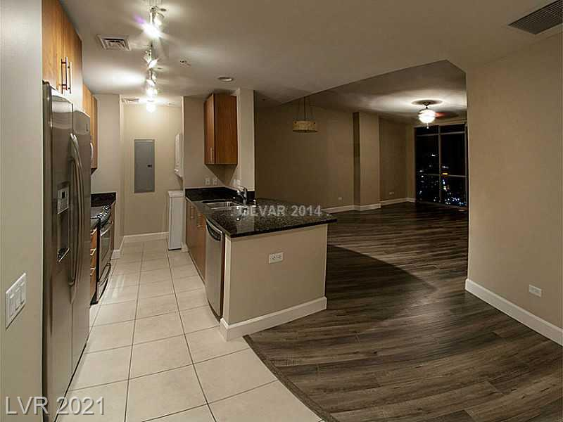 Great Investment Property. 2 Bedroom Luxury Condo with Strip Views at Allure Las Vegas. Recently renovated with wood floors and new paint. This condo has a huge master bedroom and amazing strip views. Tenant is in place for October 1, 2021 @ $2400/Mo.