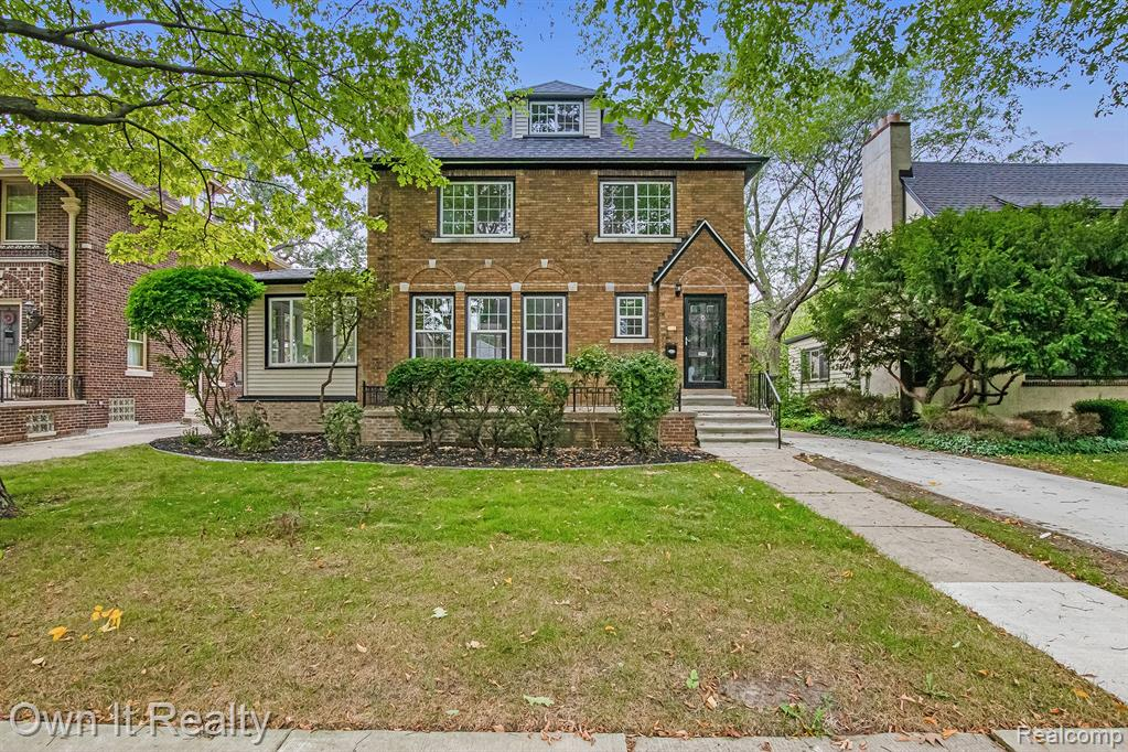 Spacious brick colonial located a few blocks away from the Village, West Park, shopping, and restaurants. An easy bike ride or a quick drive to the 2 residents-only parks featuring a movie theater, swimming pools, splash pad, marina, fishing pier, walking trails, kayaking, tennis courts, playgrounds & fitness center. Fully remodeled with no expenses spared.  Open concept floorplan with expansive living room boasting a natural fireplace. Refinished original hardwood flooring flow throughout. New Gourmet kitchen offers custom cabinets, granite countertops, and professional-grade appliances. Remodeled Bathrooms, New HVAC system with ducts, furnace, and A/C. Bonus Rec room on 3rd level that could be used as an additional bedroom. Beautiful 2nd story 4 seasons room in the rear. This home has it all. Nothing to do but move in!