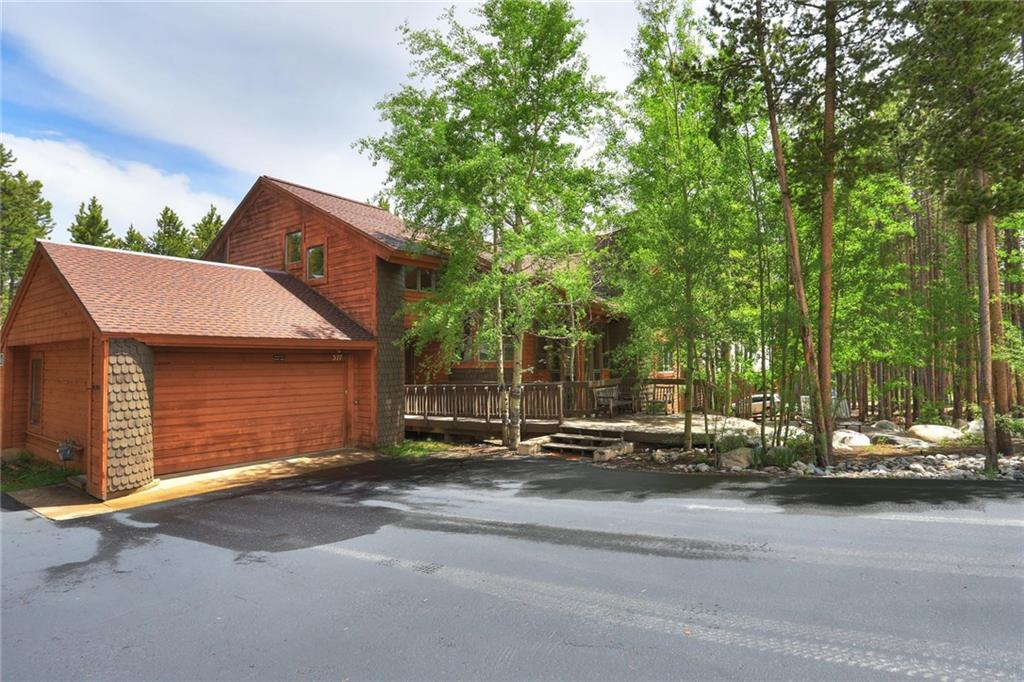 This home has a great floor plan sleeps an army and has a great location adjacent to Trigve's Ski Run. This ski in ski out single-family home is a great investment family home or rental property. The last two owners have not rented the home at all so it is in great shape.  Vaulted ceiling's in the living room dining room and kitchen area give this home a very big feel with two huge fireplaces three master bedrooms large over sized two car garage downstairs den with and awesome wet bar.