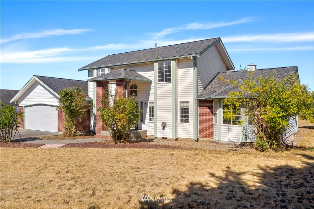 This 5 acre property is a gem! The main house is approx 2,700 sq ft and features 4 beds, 4 baths, and 3 car garage (935 sq ft). Detached large ADU with full kitchen is approx. 750sq ft. Additional detached garage/barn in the back as well. There are garden areas, apple trees, hay fields, and room for horses! Country living with easy access to I-5, 40 mins to Olympia and 15 mins to Chehalis.  Septic and Well are in remarkable working condition.  Add solar or similar and you could be living off the grid easily.  Literally something special about this house for everyone. You will especially like the secret rooms!