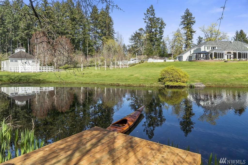 Stay at home & have it all with this one of a kind legacy estate that is unquestionably one of Gig Harbor's most extraordinary retreats! In the heart of Rosedale & Allen Point, this property showcases 2.53 acres of amazing! Soaring ceilings, 3 bedrooms, w/ensuite baths, 2 gas fpl, pool, hot tub, sauna, horse barn w/studio, greenhouse, gardens, orchard, trout pond & dock, 3 car gar & 3 car detached gar w/shop! This storybook estate is nothing short of amazing! Ask for a list of all the amenities!