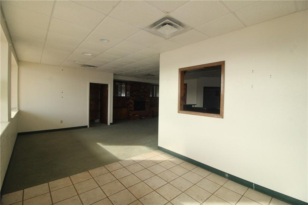Large commercial office located in Yukon. 