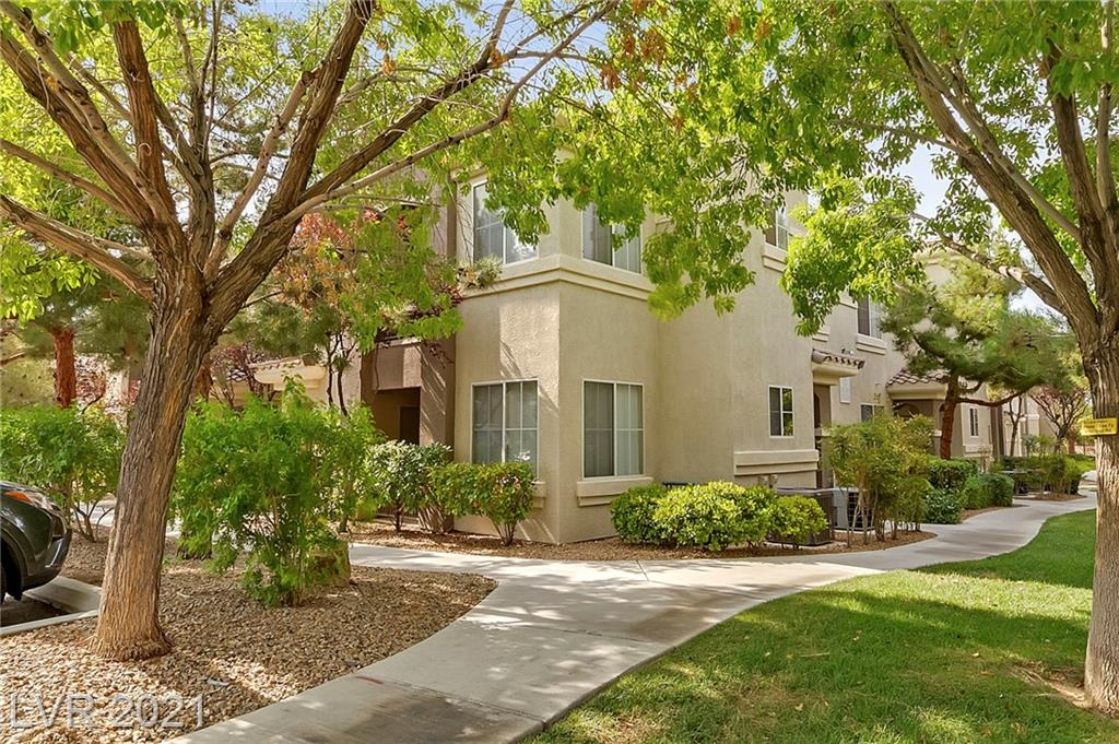 Highly Sought-after Rhodes Ranch Condo Community. This second-floor unit is located close to the Clubhouse that has great amenities to offer residents. Gated, Community pool/spa, playground, basketball court & pristine well-maintained grounds. Enjoy views of the community from private covered Balcony.