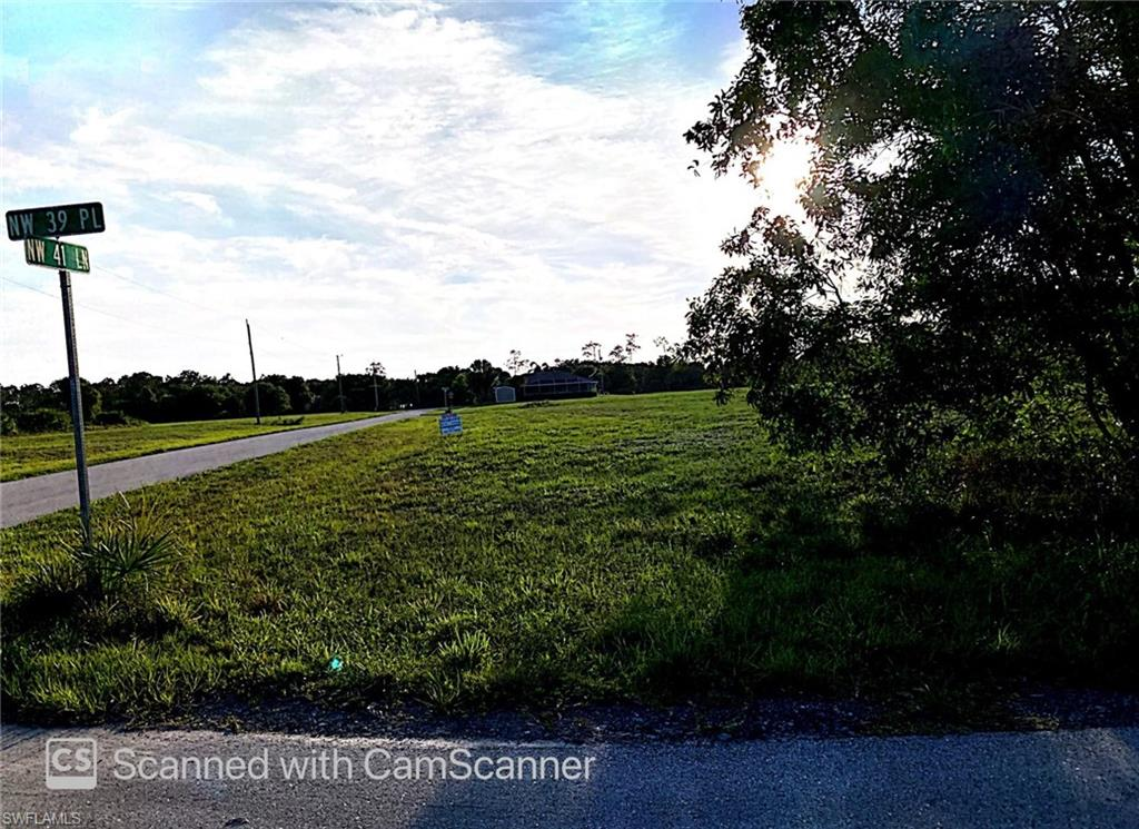 Clean corner LOT in rapidly growing NW Cape Coral. Build your dream home on this beautiful lot near gulf access boat ramps, marinas, clear from owls or tortoises nests. Great location, close to Burnt Store Rd. sits on a western rear exposure.