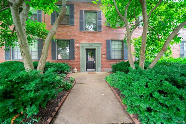 Charming condo located in Clayton in walking distance to The Galleria. Hardwood floors throughout the unit. Bright windows. Kitchen with newer appliances and subway tile backsplash. Lovely backyard with grilling patio for the building. Central AC. 1 assigned garage parking space. Storage unit.