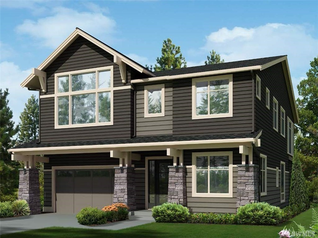"Lot 180, Greystone IV, ""Firloch"" plan features 5 bedrooms, 4.5 baths, den, rec room, designed for today's lifestyle! Standard features include stunning slab quartz in kitchen and baths, innovative Kitchen-aid appliance package, 7"" wide plank floors, 8' doors, mud set shower pan and tiled bath wall in master. Full wall of windows allow for natural light! Covered patio for entertaining! Beautiful community with several parks and trails in the Tech heavy corridor of Redmond! Award winning schools!"
