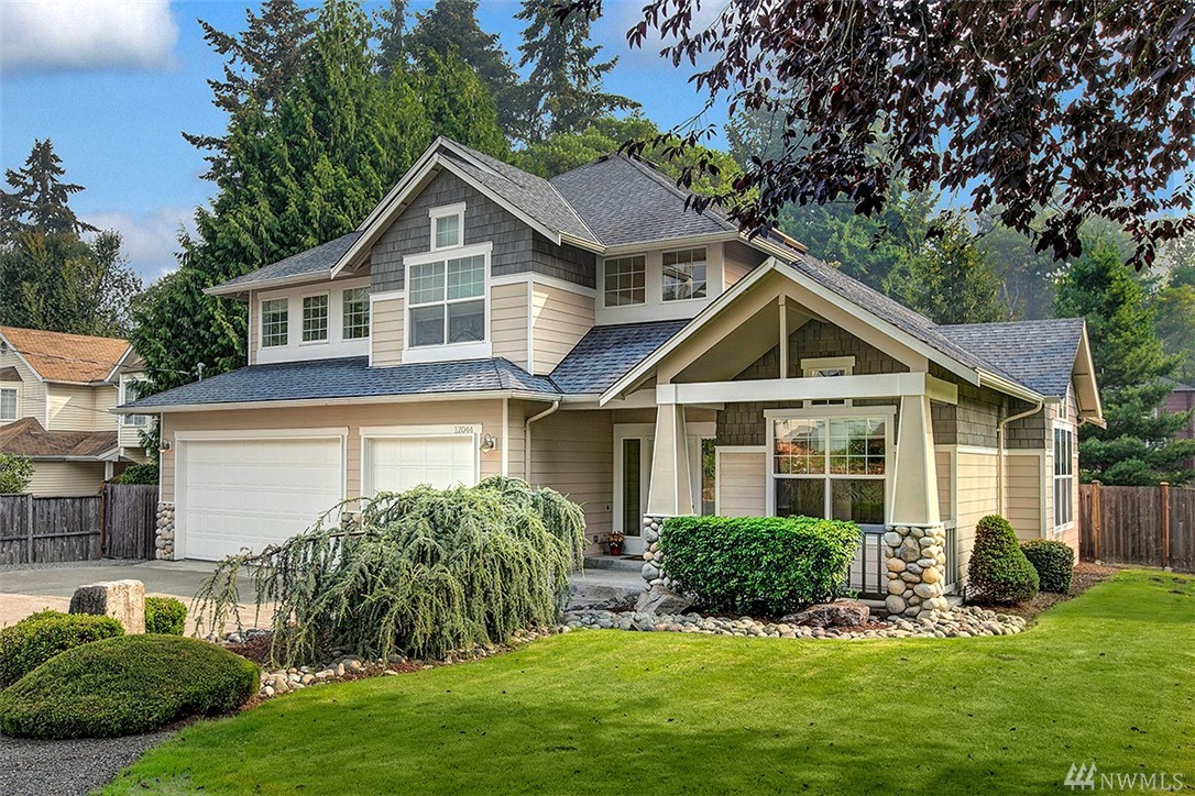 Excellent opportunity awaits for this rare find Craftsman situated on a large lot on a dead end street.Very private with mature landscape.  Great RV & Boat parking available besides generous size 3 car garage.Newer AC, furnace & H2O.Elegant covered porch welcomes you with cathedral ceilings in your main entry.Main floor office with all major living spaces.Updated appliances in kitchen.Bedrooms plus bonus room on upper level. Entertaining size deck off rear. Fully fenced yard.This is a must see!!