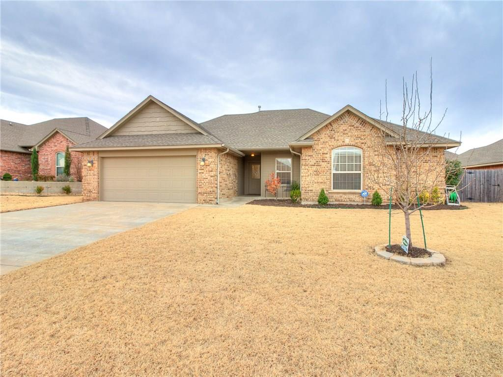 This home has 4 bedrooms, two bathrooms, a screened in back patio, and close to NW Expressway for easy access to everywhere plus on a cul-de-sac street. Come take a look at this beautiful and well cared for home. All rooms have ceiling fans and huge closets. Living area has laminated wood floors and gas fireplace. Home has lots of windows for lots of natural light. Refrigerator can stay with home. Lots of storage throughout this home. Come take a look and take the steps to make this one yours!