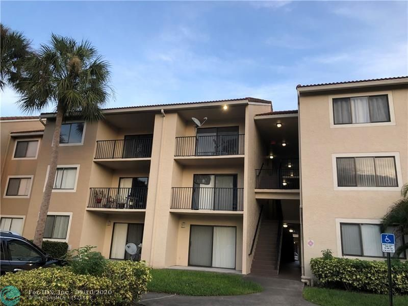 Totally upgraded and immaculate third floor unit. 3 bed 2 bath. Stainless steel appliances. Bright and open floor plan. Voltex ceilings. Full size washer and dryer inside the unit. Gated community that offers Clubhouse, exercise room, jacuzzi, 2 pools, children playground, picnic/BBQ area. Centrally located across the street from the Coral Square Mall, Post office, Schools and Parks. Great for investors! Unit is rented $1700 until 12/31/2020. Water, garbage, sewer included in the condo fees