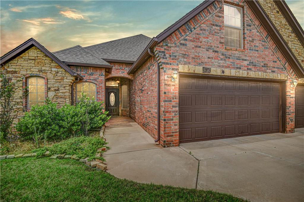 This beautiful home in The Grove will take your breath away! This home features a wonderful open floor plan with master on one side, two bedrooms on the other & a office in the front. Living room stuns with its tall ceilings, and large windows. Kitchen includes plenty of cabinet space, granite countertops, and is open to the living room by way of the breakfast bar. Upstairs room could be used for many different purposes. Enjoy a quiet sunset outside on the covered back patio. The Grove offers a myriad of recreational amenities- two pools, playgrounds, clubhouse, fitness center & more!