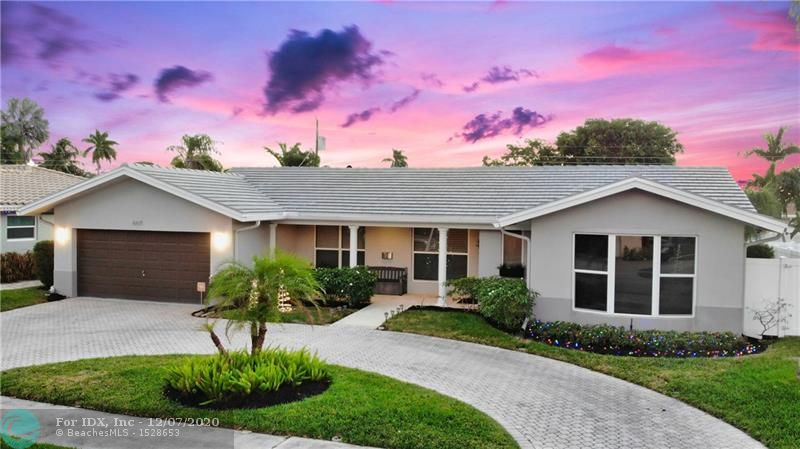 NEW $33,000 ROOF JUST COMPLETED! Welcome to your destination. This home is perfectly situated for easy access to Broward Health Imperial Point, Holy Cross Hospital, Westminster Academy and Pine Crest School. This stunning 3BR/3BA home is in the heart of Ft Lauderdale.  As you step through the front door this home embraces you with attention to detail.  Located on a quiet street complete with sidewalks to enjoy an evening stroll. The backyard is perfect for entertaining family and guests, complete with privacy fence abutting a cul de sac. Finish the evening relaxing in the Jacuzzi and quick cool down from the outside shower.