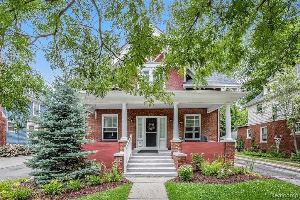 UNIQUE, MUST SEE COMPLETELY RENOVATED HOME (2015) INSIDE AND OUT, 1/2 MILE FROM DOWNTOWN!!! Enjoy the experience of Ann Arbor.   All new appliances, electrical, plumbing, heating, roof, flooring, kitchen and baths.  Nothing left to do but enjoy life.  2nd bedroom is in the basement with a unique ingress/egress. Floors on main level are wood and mostly heated. Two story garage with basement and elevator.  Huge unfinished room under the garage which is attached to the basement.  Would be great for a playroom/man cave/she room/craft room.  No showings until July 3rd.