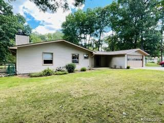 ****Highest and Best due Monday September 13th at 6pm.  This ranch home sits on 5 beautifully wooded acres in the greater Lapeer area with 4 bedrooms, 3 bathrooms, a natural wood fireplace as well as a gas fireplace. The large basement is partially finished and ready to host parties that won't stop because of the whole house generator. There's also a 2 car attached garage and nice deck for entertainment with a pond. This house has easy access to quick travel on I69 and the other main travel veins in the area. Call to see it today 810-560-2686