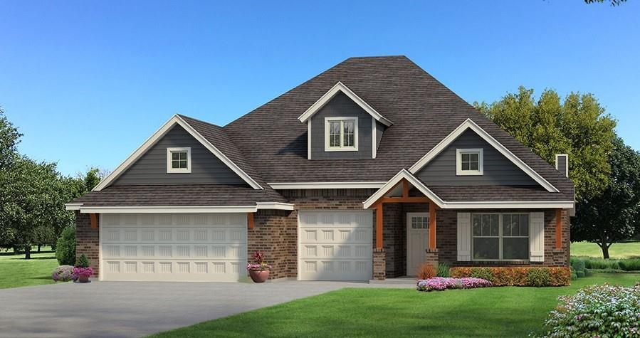 Plant your roots in the Gated, Piedmont Community, Ponderosa Estates! This Shiloh Bonus Room floorplan includes 2,805 Sq Ft of total living space, which includes 2,450 Sq Ft of indoor living space and 355 Sq Ft of outdoor living space. There is also a 610 Sq Ft, three car garage. This home features 4 bedrooms, 3 bathrooms and a bonus room! The spacious living room has a coffered ceiling,  stack stone gas fireplace and is secluded from 2 bedrooms with barndoor. Master suite offers a boxed ceiling with ambient lighting, 2 separate master closets,  his and hers vanities, corner jetta tub, and huge walk in shower! The kitchen is an absolute dream, it boasts with cabinets to the ceiling, stunning backsplash, built in stainless steel appliances, and 3cm quartz counter tops! Back patio is great for entertaining, its spacious and has an outdoor fireplace. Other amenities include Smart Home Technology, a Rinnai Tankless water heater, whole home air purification, R-44 Insulation & solarboards.