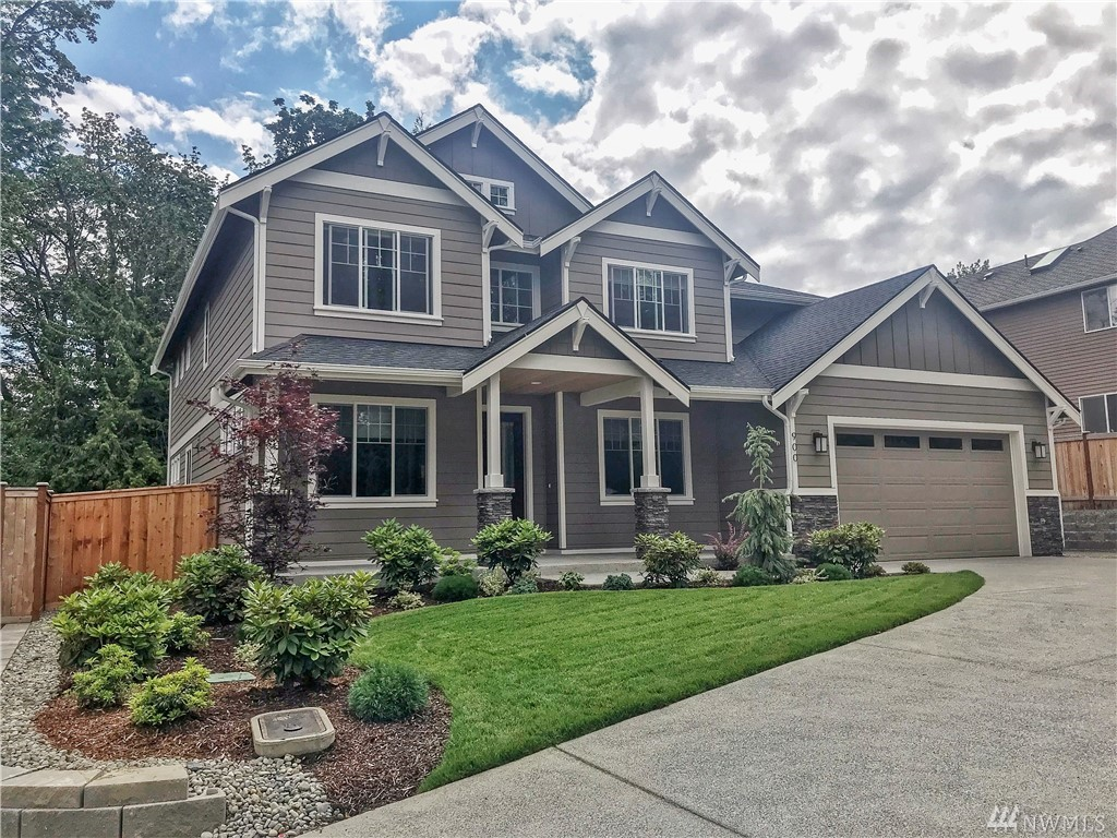This presale sits on our remaining largest lot in the community. Conveniently located between the Issaquah Commons shopping area, Tibbets Valley Park, and Issaquah Park and Ride. This location combines quiet forest and still being close to everything you need. Choose your surfaces and add upgrades built home comes with traditional style and modern touches if you wish. High ceilings, three car garage, dual ovens, soaking tub, quartz counters in kitchen all standard.