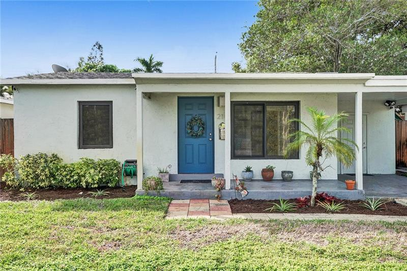Absolutely pristine 2/1 single family home in desirable North Andrews Gardens! FEATURING: IMPACT windows & doors, 2016 roof, 2017 HVAC, fully remodeled kitchen & baths, tile & vinyl flooring & more! Enjoy your fully fenced yard with plenty of room for a pool! Shoot straight down Commercial Blvd to hit Lauderdale By The Sea's beach and shops/restaurants! Quick access to 95. You have to see this home in person. See you at the Open House on Saturday!