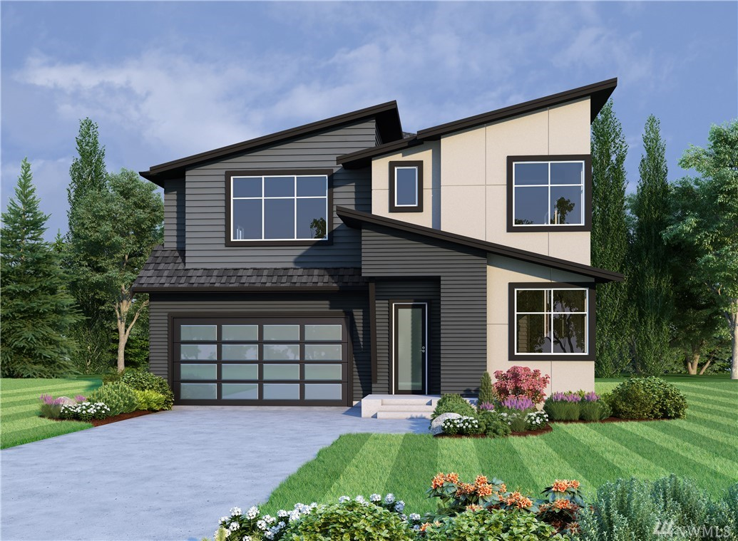 Versant by Terrene Homes, a RARE opportunity in Rose Hill. 24 homes in an idyllic cul-de-sac formation ranging from 3200-4600sf. Lot 22 is the Winslow; thoughtfully planned. Modern feel w timeless designer curated finishes: main floor den + 3/4th bath, 10' ceilings, walls of windows, open concept great room w slab quartz & Thermador appliances, smart home elements, the list goes on. Savvy floorplan has 'winged' spaces upstairs: Master + bonus & laundry then den & 3 addt'l beds. Welcome Home!