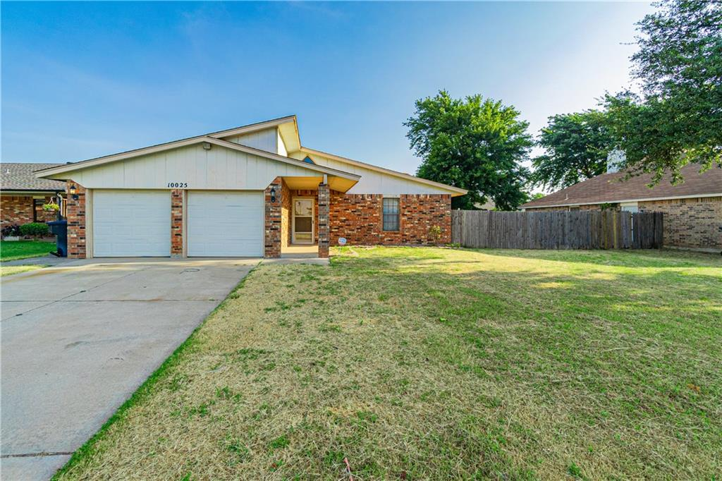 Great location!  Mustang schools!  Adorable 3 bed 2 bath home with a large living room.  Beautiful fireplace with built ins.  Master has a full bath attached with great walk in shower and walk in closet.   Large backyard with lots of room to play.  This one is ready and won't last long!