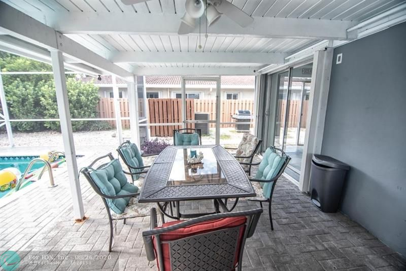 UPGRADED HOME. RELAXING, BEAUTUFUL POOL AND PATIO AREA.  IMPACT WINDOWS & DOORS. SOLAR POOL HEATER AND INTERIOR.WALKING DISTANCE TO THE BEACH, SHOPPING & RESTAURANTS. GREAT FOR VACATION HOME OR PRIVATE RESIDENCE. SPACIOUS ROOMS.