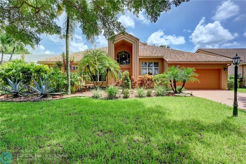 REDUCED! Amazing opportunity in Highly sought after Hidden Hammocks Estates in Coral Springs. This 5/2.5 waterfront pool home features: 2018 AC w/warranty, kitchen w/granite counters, 12/2018 Stainless Steel Samsung appliances, pantry, formal dining room, family room, vaulted ceilings, recessed lights, laundry room w/storage, tile floors in living areas, laminate floors in guest rooms, cabana bath, updated master bath w/granite & dual sinks, His & Her walk in closet in master, covered patio and screened-in pool with spectacular water views. Maintenance fee includes man-guarded gate & common areas. Close to schools, dining, shopping and Sawgrass expressway. See application attached, assn. requires 650 credit score.