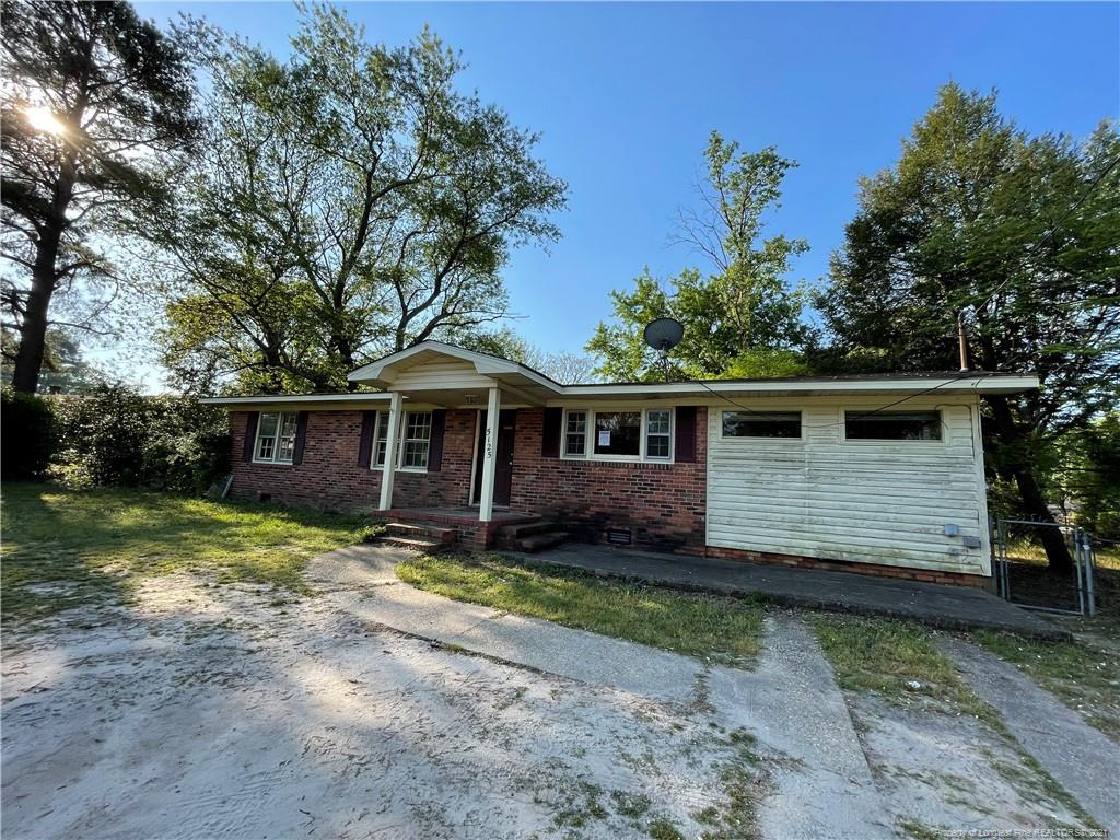 Great opportunity for a brick veneer ranch needing some TLC.  Lots of square footage large rooms and oversized covered patio.  Conveniently located and being sold in as is condition.