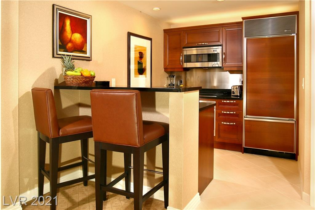 Beautiful 1 bedroom suite with a balcony and amazing strip views inside the Signature on the 16th floor Strip side of building.