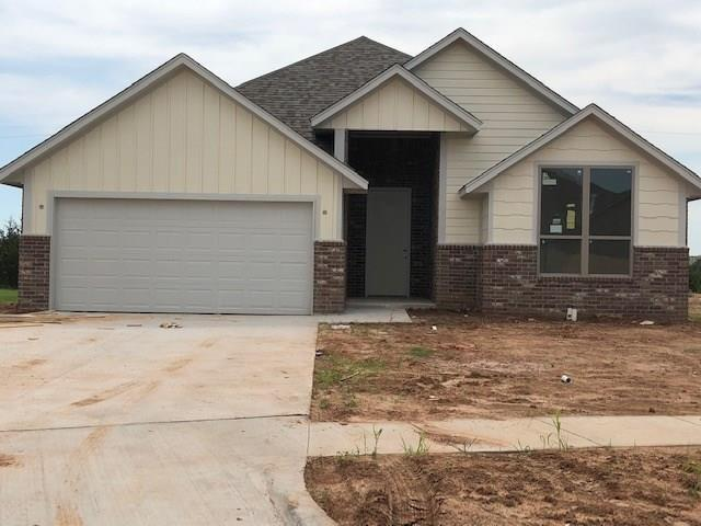 Great new construction home. Spacious, open concept living area with corner fireplace, vaulted ceilings and large windows that lead to a covered patio. The kitchen completes the main living space with a corner walk-in pantry, plenty of cabinetry and ample countertops. 3 beds, 2 baths, 2 car garage!