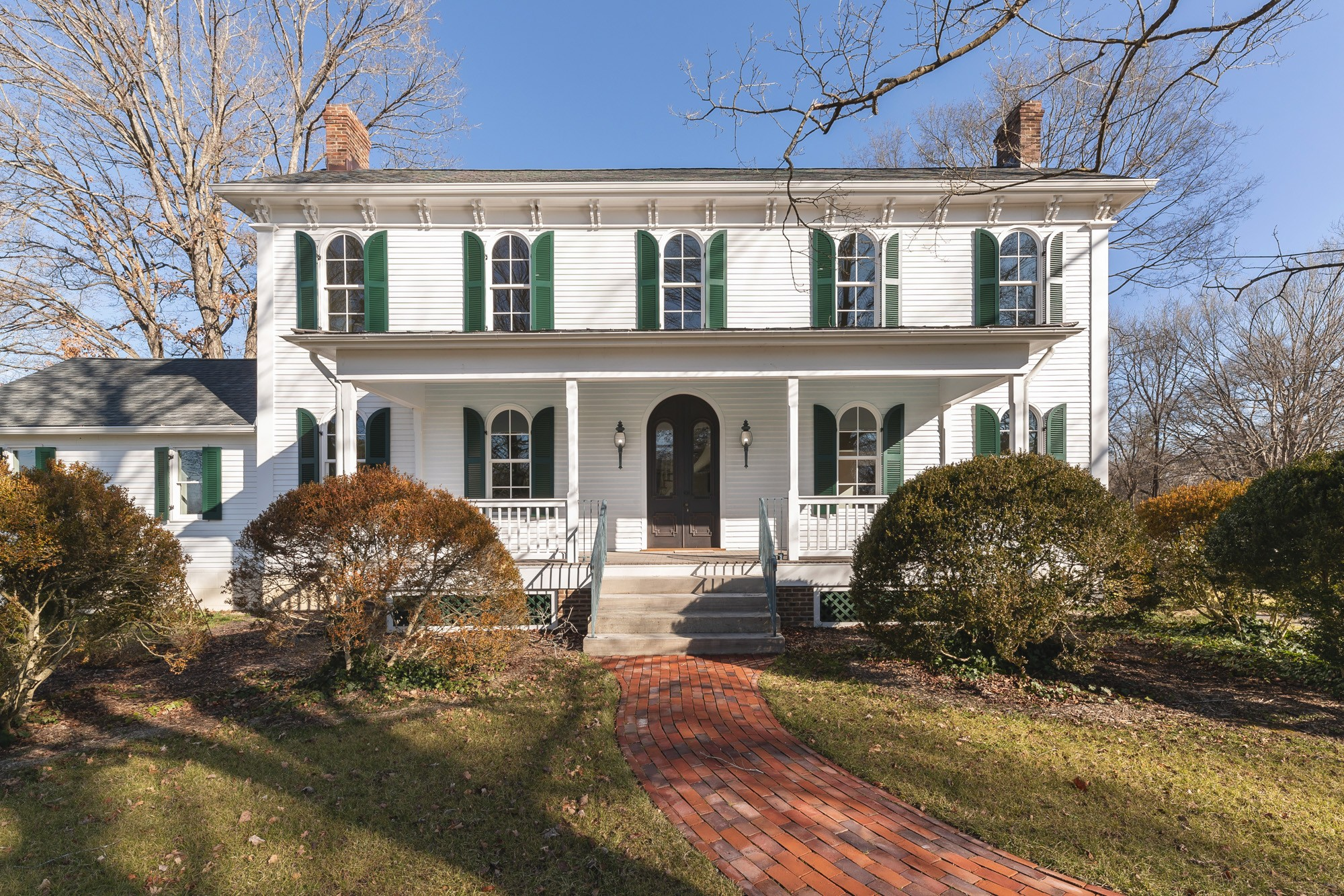 Originally built in 1866, this historic Franklin home has been completely rebuilt in a manor true to historic preservation and luxury new construction. This home was redesigned in rotunda style inspired by Italian architect Andre Palladio, giving this home balance and symmetry. The center point of the house is topped with a cupola commonly found in Italianette architecture promoted by 19th-century architect Andrew Jackson Davis. Safely walk to downtown or enjoy a morning run at the park.