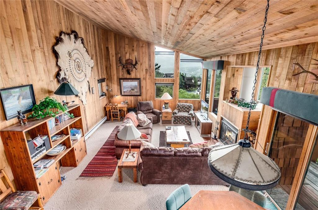 Ski-in/ski-out duplex in a beautiful setting overlooking Sawmill Creek with amazing mountain views. 2 car attached garage providing plenty of storage. Not only does this home offer ski-in/ski-out access but it is also is just a short walk to Breck's historic Main Street. Peaceful setting with wildlife in your backyard. On the bus line making it easy to get around all of Summit County. This is a prime location that is tough to find!