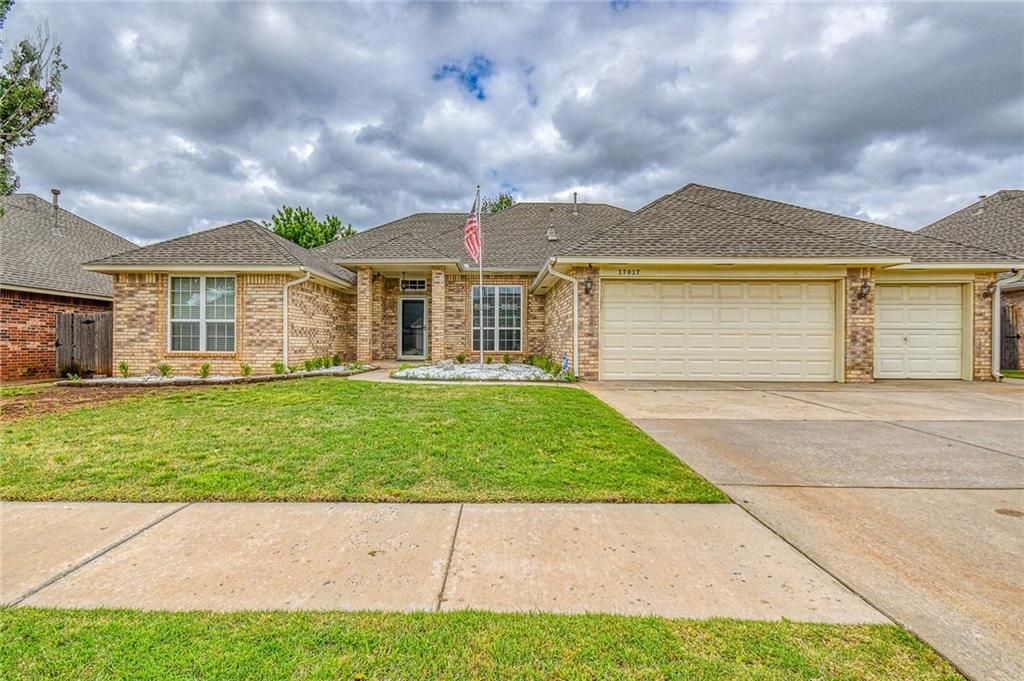 Wonderful find with 4 bedrooms, 3 baths,  3 car garage all with a  beautiful concrete pool.  Upgrades include new windows in 2015, Hot water 2018, pool pump 2019, dishwasher 2019.  Living area features crown molding and gas logs in fireplace and great view of pool.  Kitchen has granite, with breakfast bar, pantry, fan, gas cook top & Bosch dishwasher. Utility room w/sink, storage and washer/dryer. Master bedroom with fan & large walk-in