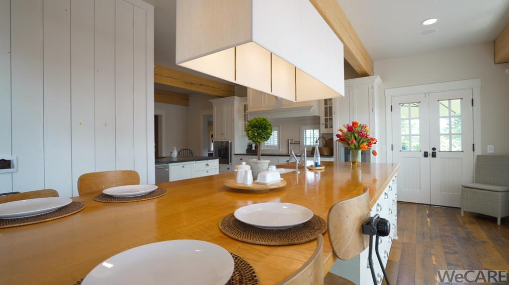 Beams and recessed lighting