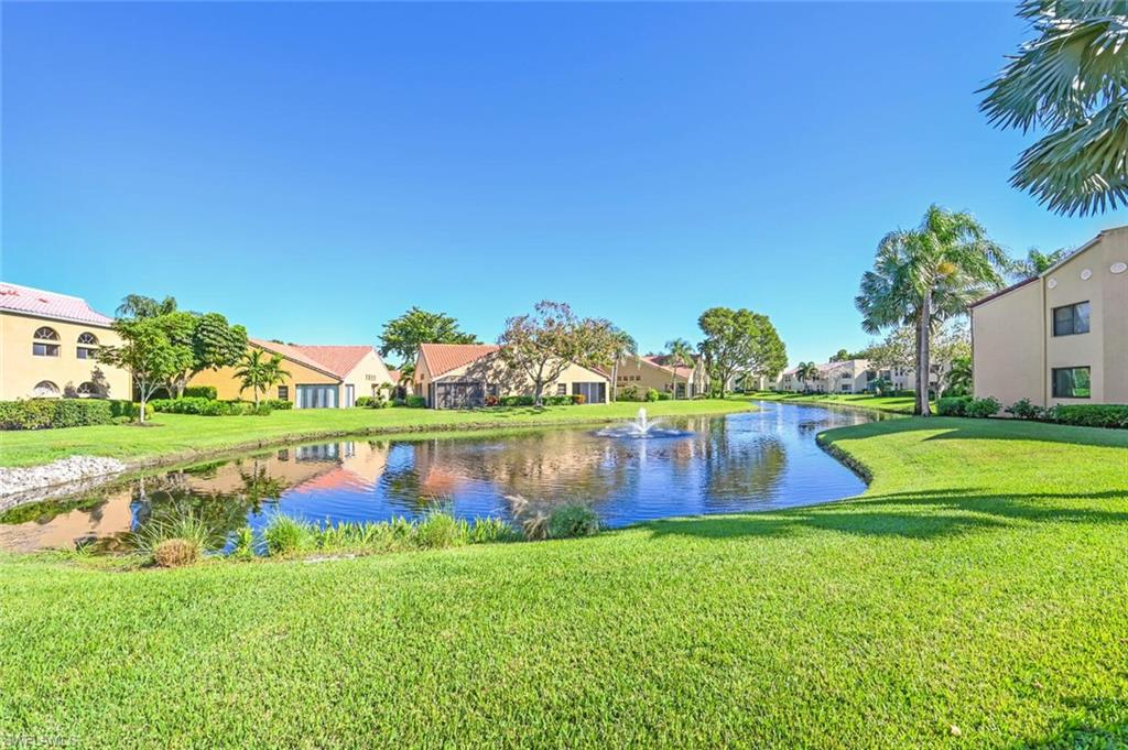 This well maintained 2 bedroom 2 bath condo is the one you have been looking for!  Master and guest bathrooms were newly remodeled in 2020, slider enclosed lanai which increases the living space to enjoy your coffee or glass of wine while enjoying the lake view. Split floor plan. Dual sinks in master bathroom. Walk in closet in master bedroom. Beachwalk is a private 24 hour manned gated community located just a short walk or bike ride to the beautiful Vanderbilt Beach, numerous restaurants, shopping, Publix, Mercato and more.  Beachwalk amenities include 6 lighted tennis courts, bocce, an exercise room, on site manager, clubhouse, library, 2 heated pools, spa and many social activities. Great condo for a second home or an investment property as Beachwalk has a good rental policy and is popular with renters.