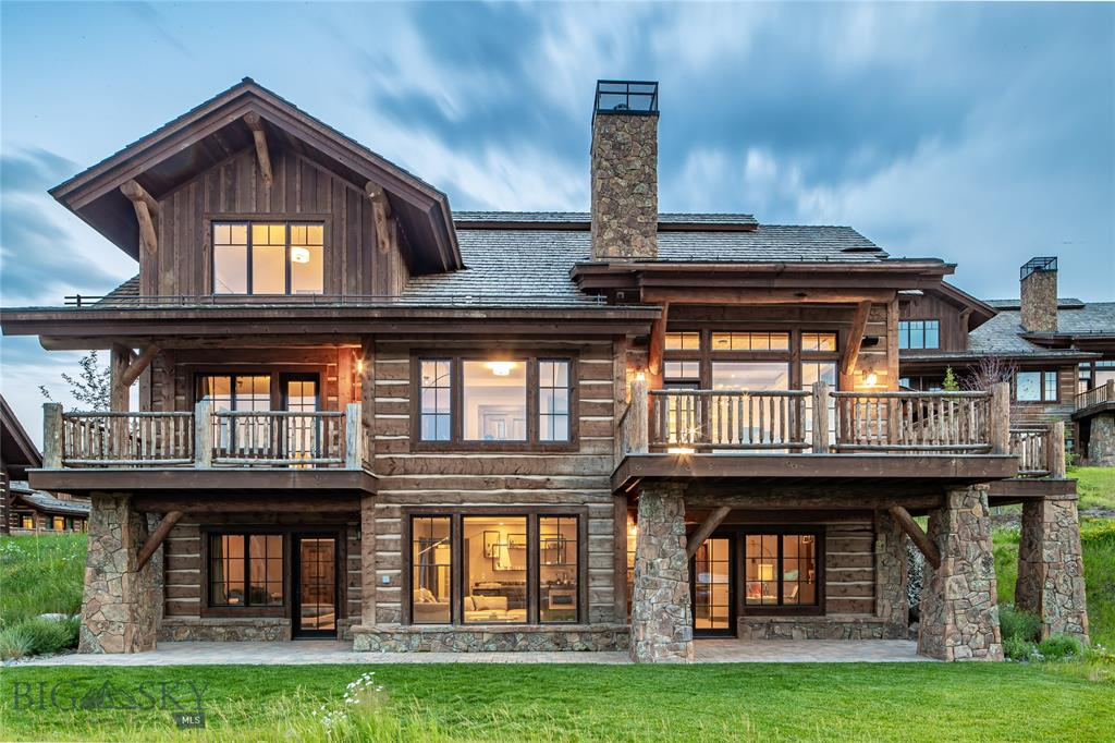 This beautifully appointed ski-in/ski-out Settlement Cabin is just steps from the first fairway of Tom Weiskopf designed golf course and the heart of Spanish Peaks Mountain Club. Walking distance to the clubhouse, golf and future Montage Hotel amenities, this 6 bedroom, 6.5 bath residence has luxury finishes, 2 additional living rooms and a 2 car garage. Application and approval for membership with Spanish Peaks Mountain Club required prior to closing. Golf/Ski or Social/Ski membership available.