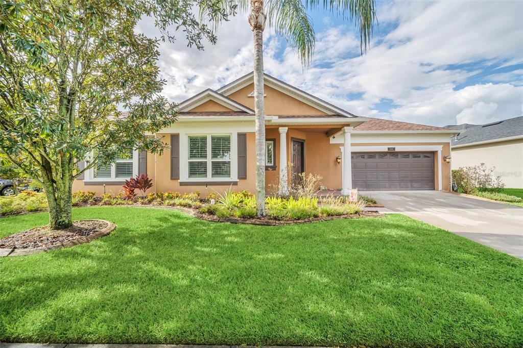 Beautiful Custom Home with an amazing pool and pool deck, on a Large Corner Fenced Lot in Wonderful Summerport! Spacious floor plan with huge great room and beautiful Laminate floors. Up-grades galore in this amazing custom home! Since 2019 all new appliances, energy efficient windows, Plantation shutters, new ceramic tile in all bedrooms, new paint, gutters... just to name a few. Fabulous pool, and pool deck with awesome landscaping! Perfect for entertaining or just relaxing with family and friends. Community amenities include fitness center, dog park, play grounds, large pool, fishing docks, tennis, basketball and volley ball courts. Great Schools! Easy access to Turnpike, 429 and 408; close to Winter Garden Village and Disney.