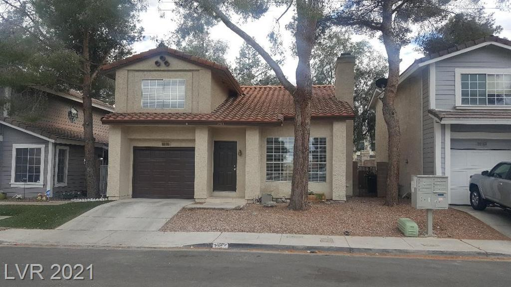 10 minutes away to the new Allegiant Raiders Stadium, Great area 2 story home, 2 master bedrooms and 2.5 bath, freshly painted, tiled 1st floor, Community pool/ park, MUST SEE
