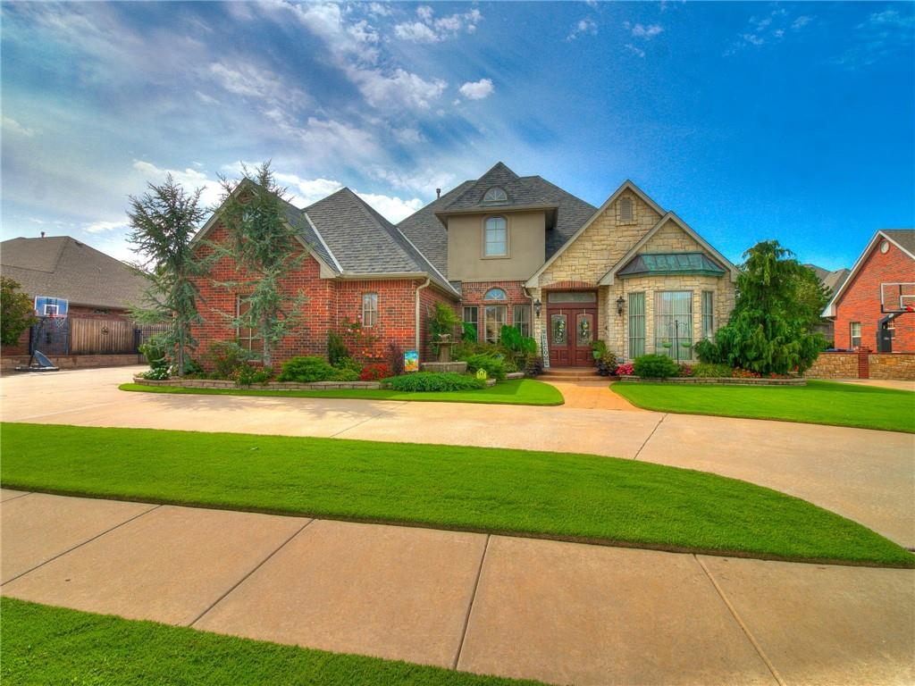 REDUCED OVER $40K!!  New paint (interior and exterior), new carpet, new roof, 2 new water heaters, nearly 3700sf, fantastic NWOKC location for well under $500K!! Main floor offers a very private primary suite, half bath, large family room, formal living, study/office, formal dining and eat-in kitchen. Upstairs you'll find 3 beds (each with a walk-in closet) and 2 full baths, plus a great bonus room that can function as 5th bed, game room or additional living space. Outside there's plenty of room for entertainment with a huge patio and incredible landscaping!