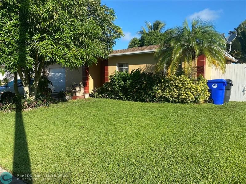 No restrictions. Property has a new roof that was recently installed. Freshly painted, fenced, paved backyard and good landscape.