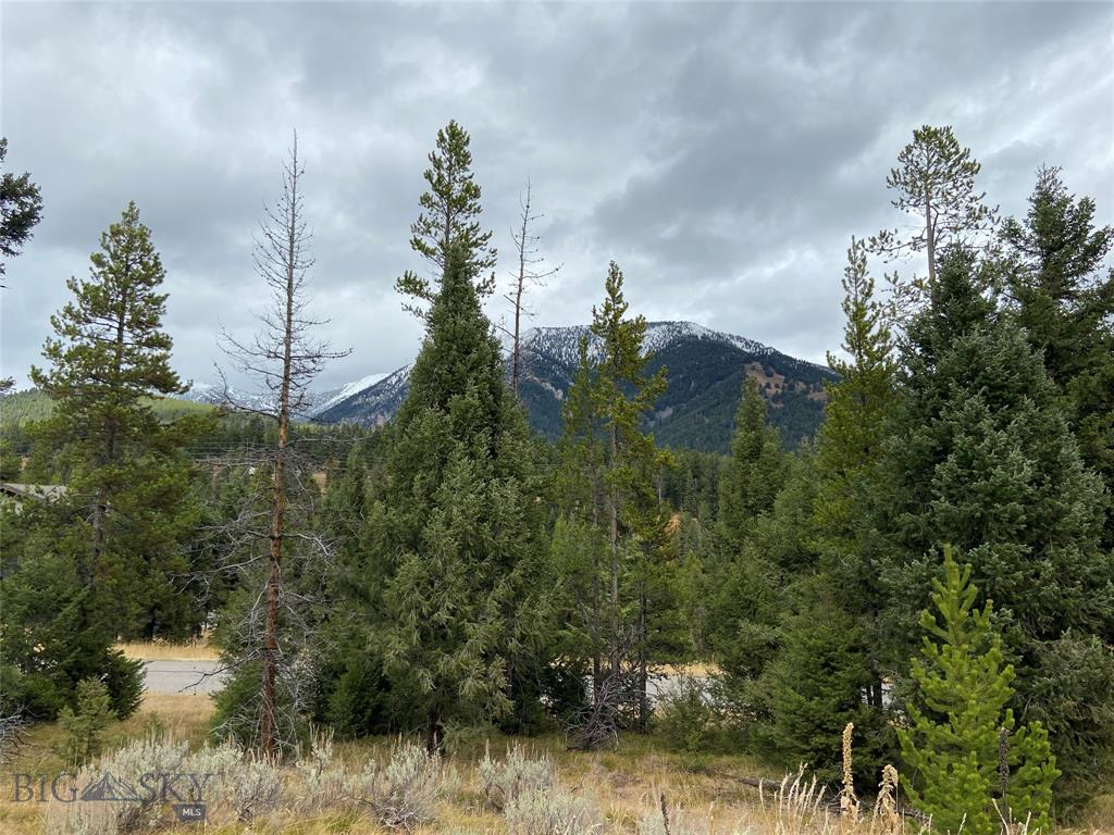 A .59 acres lot located in The Antler Ridge Subdivision in the heart of Big Sky Montana. Wonderful views of the surrounding mountains. A mid mountain location, minutes away from down hill skiing, cross country skiing, fly-fishing, golfing, & hiking.
