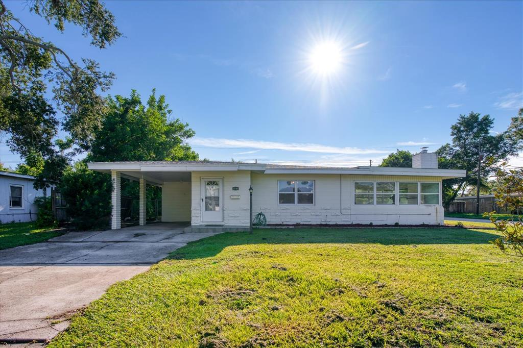 Beautifully maintained pool home resting on a large corner lot in the highly desirable Jungle Country Club neighborhood. This block home comes with a new HVAC, new flat roof, newer main roof (2019) and newer windows. The interior boasts soft, modest updates throughout that provides a turn-key move in, but also leave room for personalization should a new owner desire. The floor plan is open and allows for natural light and an airy feel upon entering the home. The living room rests to the right of the entryway, with french doors leading from the living room into a family room that holds tons of natural light and a wood burning fireplace. The kitchen comes fully equipped and holds real wood cabinetry and warm finishes with plenty of countertop space. The three bedrooms and bath rest past the shared living areas. This home sits high and dry in a no flood zone area on a quiet cul-de-sac street. Great location near everything, including shopping (Tyrone Mall area), schools, multiple parks, restaurants and just a short car ride away to award winning gulf beaches, as well as quick access via 22nd Ave N to I-275 and downtown St. Petersburg. Come make this one yours today!