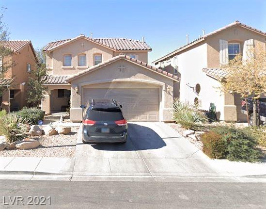 2-STORY HOME * 1668 SF * 3920 SF LOT * 3 BEDS * 2 ½ BATHS * 2-CAR GARAGE * LIVING RM: CEILING LIGHT/FAN, WINDOW BLINDS, CARPET FLOORING * DINING AREA * KITCHEN: BREAKFAST BAR, GARDEN WINDOW, RECESSED LIGHTING & STAINLESS STEEL FRIDGE/DISHWASHER/GAS OVEN/MICROWAVE * PRIMARY BED HAS LG WALK-IN CLOSET, CEILING FAN/LIGHT, WINDOW BLINDS & CARPET FLOORING * PRIMARY BATH HAS DUAL SINKS, GARDEN TUB & SEPARATE SHOWER * 2ND AND 3RD BEDS HAVE CEILING FANS/LIGHTS, WINDOW BLINDS & CARPET FLOORING * GUEST BATH HAS SINGLE SINK & TUB/SHOWER COMBO * LAUNDRY ROOM & HALF-BATH LOCATED DOWNSTAIRS * DESERT LANDSCAPING IN FRONT YARD * BACKYARD HAS COVERED PATION, CEILING FAN/LIGHT, ARTIFICIAL GRASS & ROCK LANDSCAPING