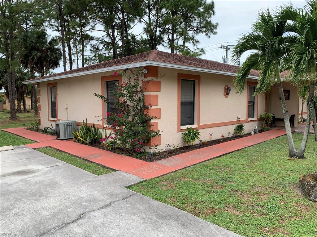 Attractive complex of two well maintained CBS duplexes in excellent condition. Each unit has 2 bedrooms and 2 baths and a screened lanai. Roof replaced in 2015, three HVAC systems are newer, two units have updated granite kitchens, all units have central water and septic.