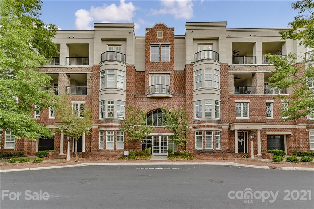 Luxury, Convenience, and Security All In One At Louisburg Square in South Park! When You Arrive, You Will Immediately Notice That This Is A Gated Community! Once Taking The Elevator To The 2nd Floor, You Will Find This 2 Bedroom, 2 Full Bath Condo Featuring Hardwood Floors, Granite Counters, & Stainless Steel Appliances. The Master Suite Features Dual Vanity Sinks, Garden Tub, Separate Shower, & Walk-In Closet. Doors In Great Room Lead To Private, Covered Balcony! As You Will See From The Photos, Bedroom 2 Doesn't Have A Window, But It Is A Great Size, It Also Has A Closet, and Full Bath Attached! One Reserved Indoor Parking Space & Additional Climate Controlled Storage Area Included. All Of This Super Close to Phillips Place & Whole Foods! Pictures Are 1 Year Old, Prior to Current Occupant Moving In. View 3D Tour at https://www.tourfactory.com/idxr2663622
