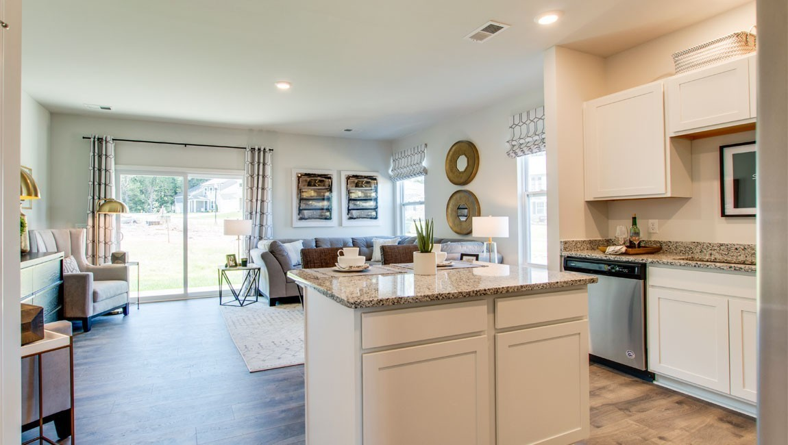 READY TO CALL HOME IN MARCH!!!  Community with a POOL!!!  Low maintenance townhome living!!! ASK about up to $5,000 with preferred lender & title.  Polk Place with Beautiful Community POOL, AND Sidewalks on Both SIDES of the Street!!!  The Franklin is a GREAT Plan with 3 bed, 2.5 bath, Large Primary Bedroom, home has a Large Covered Patio with Storage!!  Smart Home included, White Cabinets with Granite, SS appliances and featuring Hardie, Brick or Stone finishes!!!  Convenient access to I-65!!