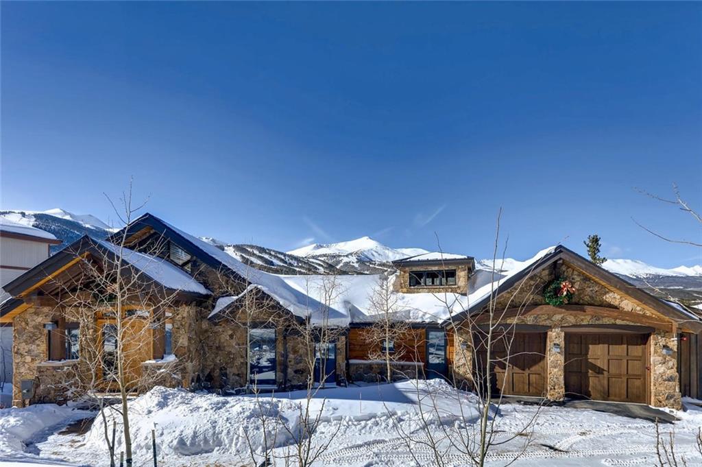 Quintessential Mountain Estate backs to Breckenridge Ski Area