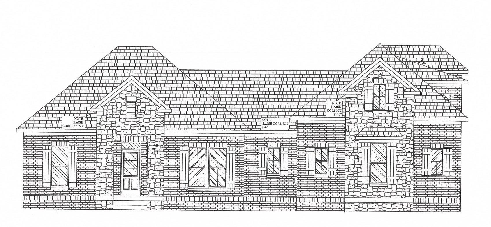 NEW ALL BRICK COMMUNITY - 3 CAR SIDE LOAD GARAGE,  4 BEDROOMS ON THE MAIN FL~ CUSTOM HAND BUILT CABINETS THRU OUT,  HARDWOOD FLOORS, GRANITE IN KIT&BTHS, 4TH B/R SET UP AS AN OFFICE WITH HDWD, OPEN LIVING FLOOR PLAN, COVERED BACK PORCH - FINISHED BONUS AND 1/2 BATH UP-IRRIGATION, TANKLESS WATER HEATER.